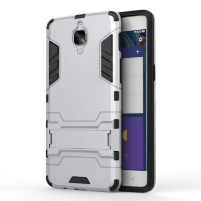 OnePlus 3 / 3T Suojakuori 2-osainen Hopea