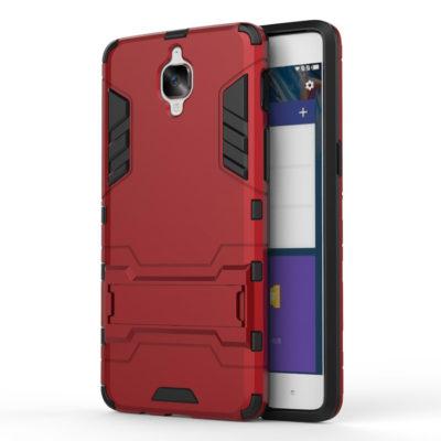 OnePlus 3 / 3T Suojakuori 2-osainen Punainen