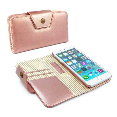 Apple iPhone 7 Nahkakotelo Alston Craig Ruusukulta