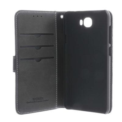 Huawei Y6 II Compact Nahkakotelo Insmat Musta
