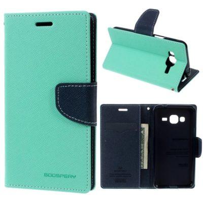 Samsung Galaxy J3 (2016) Suojakotelo Fancy Syaani