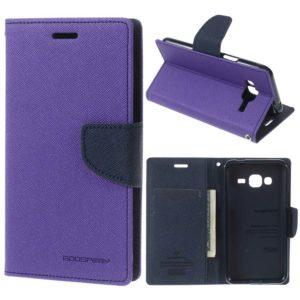 Samsung Galaxy J3 (2016) Suojakotelo Fancy Violetti
