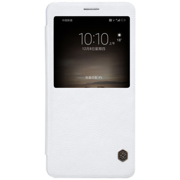 Huawei Mate 9 Suojakotelo Nillkin Qin Valkoinen