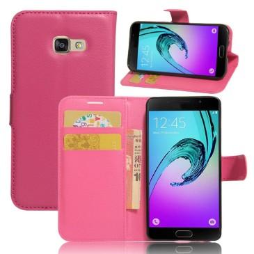 Samsung Galaxy A3 (2017) Lompakkokotelo Pinkki