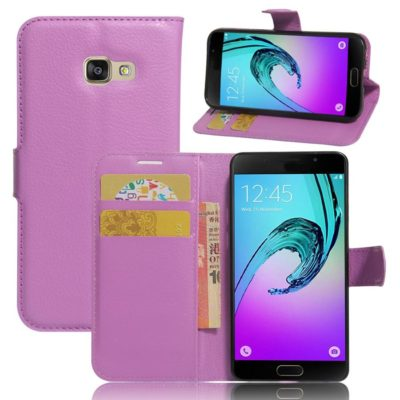 Samsung Galaxy A3 (2017) Lompakkokotelo Violetti