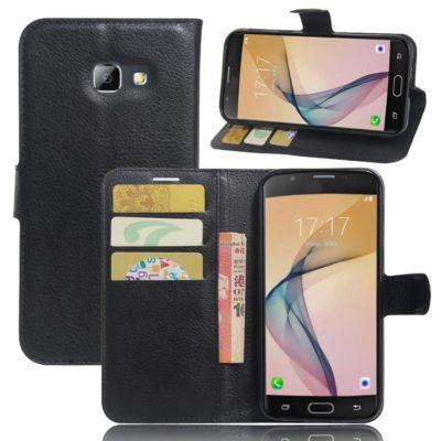 Samsung Galaxy A5 (2017) Lompakkokotelo Musta