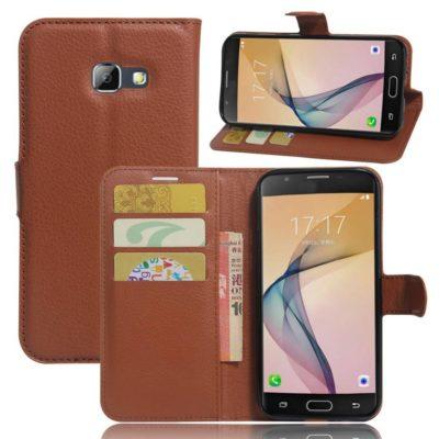 Samsung Galaxy A5 (2017) Lompakkokotelo Ruskea