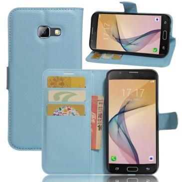 Samsung Galaxy A5 (2017) Lompakkokotelo Sininen