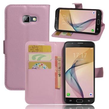 Samsung Galaxy A5 (2017) Lompakkokotelo Vaaleanpunainen