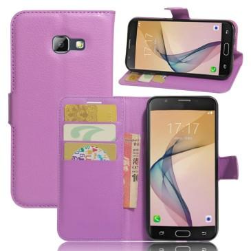 Samsung Galaxy A5 (2017) Lompakkokotelo Violetti