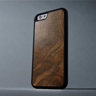 Apple iPhone 6 / 6S Suojakuori Carved Pähkinä Pahka