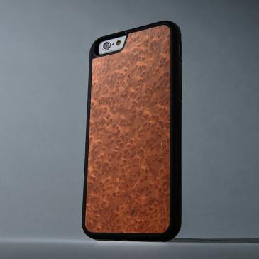 Apple iPhone 6 / 6S Suojakuori Carved Punapuu Pahka