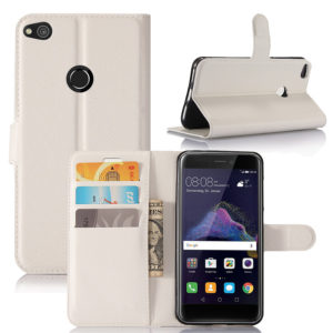 Huawei Honor 8 Lite Suojakotelo Lompakko Valkoinen
