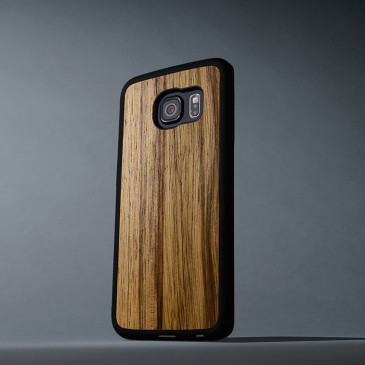 Samsung Galaxy S6 Edge Suojakuori Carved Black Limba