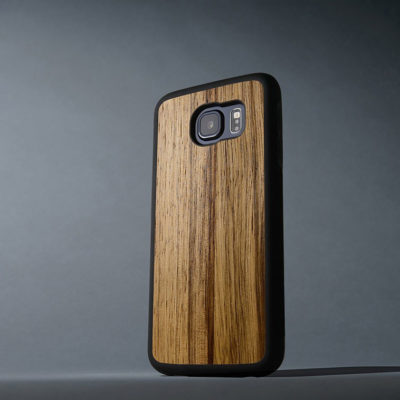 Samsung Galaxy S6 Suojakuori Carved Black Limba