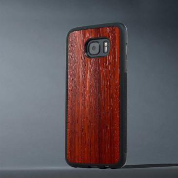 Samsung Galaxy S7 Edge Suojakuori Carved Padauk