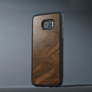 Samsung Galaxy S7 Edge Suojakuori Carved Pähkinä Pahka