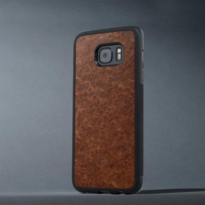 Samsung Galaxy S7 Edge Suojakuori Punapuu Pahka