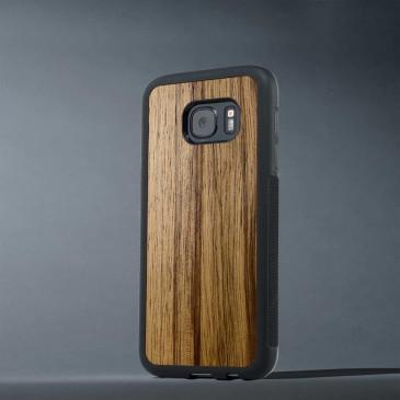 Samsung Galaxy S7 Edge Suojakuori Carved Black Limba