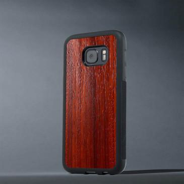 Samsung Galaxy S7 Suojakuori Carved Padauk