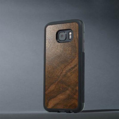 Samsung Galaxy S7 Suojakuori Carved Pähkinä Pahka