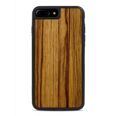 Apple iPhone 7 / 8 / SE (2020) Puinen Suojakuori Carved Black Limba