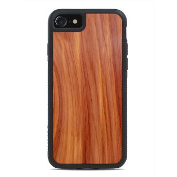 Apple iPhone 7 / 8 Puinen Suojakuori Carved Cedar