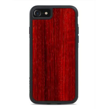 Apple iPhone 7 / 8 Puinen Suojakuori Carved Padauk