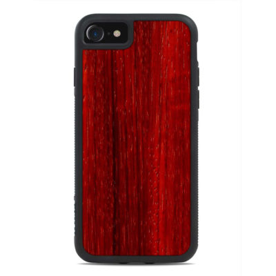 Apple iPhone 7 / 8 Puinen Suojakuori Carved Padauk