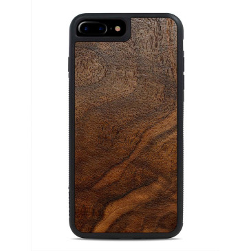 Apple iPhone 7 / 8 Puinen Suojakuori Carved Pähkinä Pahka