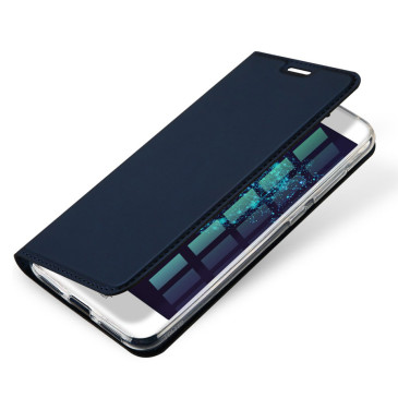 Huawei Honor 8 Lite Kotelo Dux Ducis Tummansininen