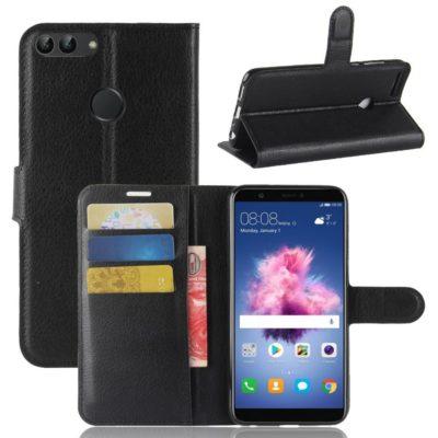 Huawei P Smart Lompakkokotelo Musta