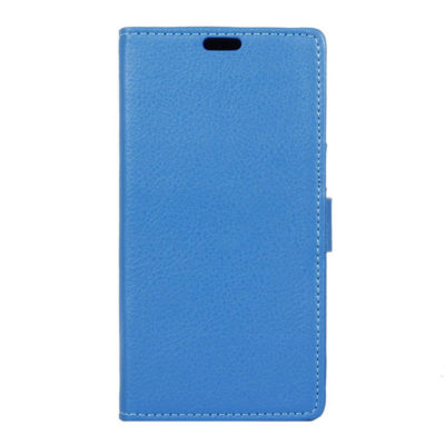 Lenovo K6 Note Suojakotelo Sininen Lompakko