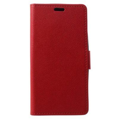 Lenovo Moto G5 Kotelo Punainen Lompakko
