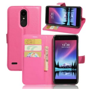 LG K10 (2017) Lompakkokotelo Pinkki