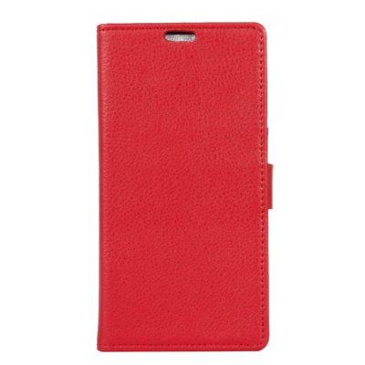 LG K8 (2017) Suojakotelo Punainen Lompakko