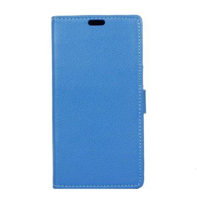 LG K8 (2017) Suojakotelo Sininen Lompakko