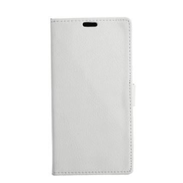 LG K8 (2017) Suojakotelo Valkoinen Lompakko