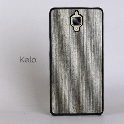 OnePlus 3 / 3T Puinen Suojakuori Lastu Kelo