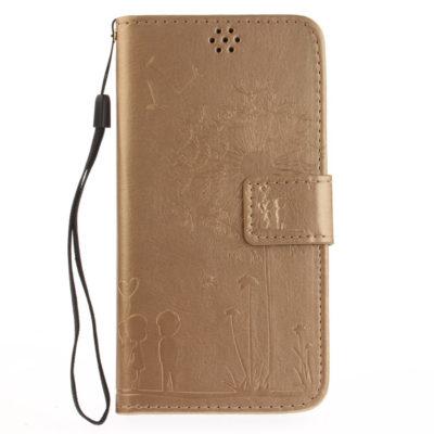 Huawei Honor 8 Lite Suojakotelo Voikukka Kulta