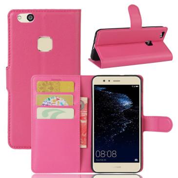 Huawei P10 Lite Kotelo Pinkki Lompakko