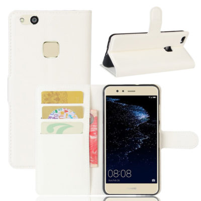 Huawei P10 Lite Kotelo Valkoinen Lompakko