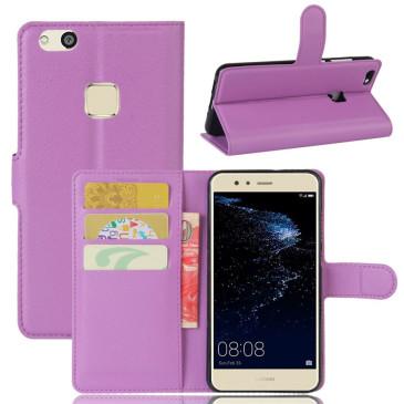 Huawei P10 Lite Kotelo Violetti Lompakko