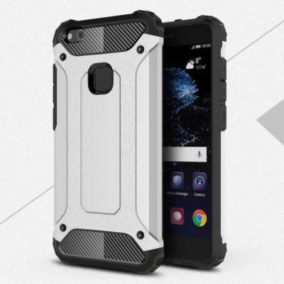 Huawei P10 Lite Suojakuori 2-osainen Hopea