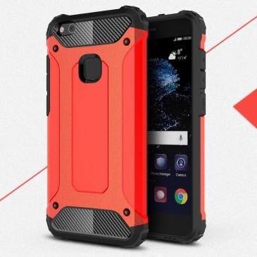 Huawei P10 Lite Suojakuori 2-osainen Punainen