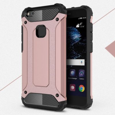 Huawei P10 Lite Suojakuori 2-osainen Ruusukulta