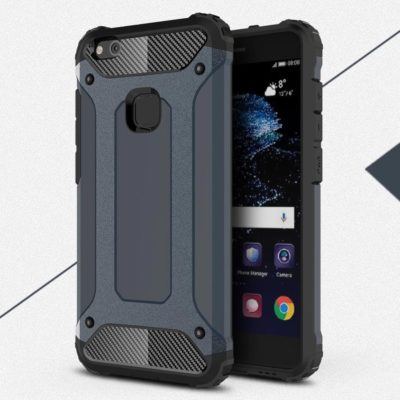 Huawei P10 Lite Suojakuori 2-osainen Tummansininen