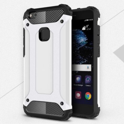 Huawei P10 Lite Suojakuori 2-osainen Valkoinen