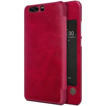Huawei P10 Plus Kotelo Nillkin Qin Punainen