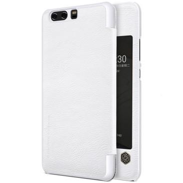 Huawei P10 Plus Kotelo Nillkin Qin Valkoinen